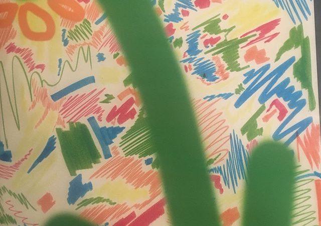 絵画とメイクカラーの組合せ